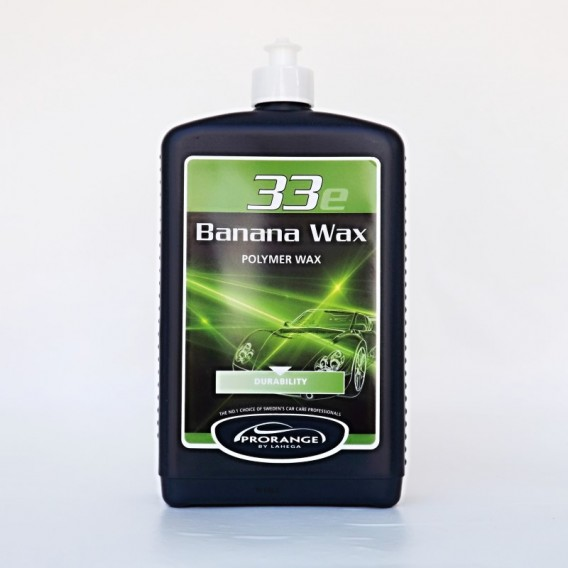 Autokosmetika Prorange BANANA WAX 33 (1ltr) - banánový tvrdý vosk