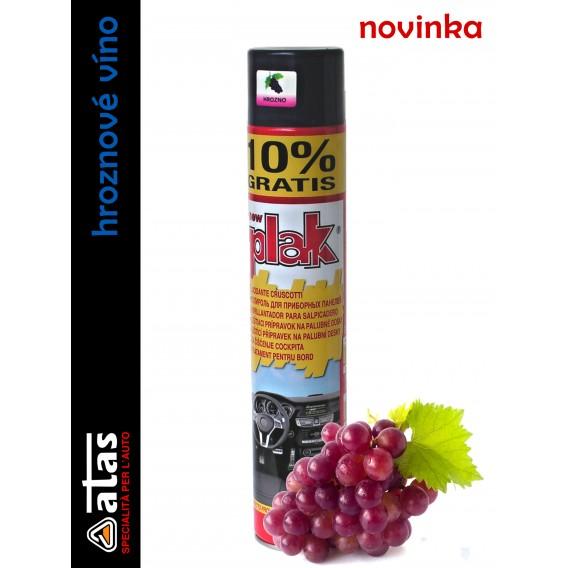 Autokosmetika na plasty | PLAK | hroznové víno