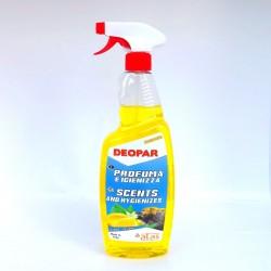 Deopar | Citron | odstraňovač zápachů s vůní | 750 ml