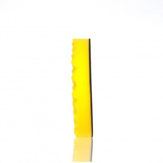 Leštící kotouč žlutý vlnitý 180 x 30 mm