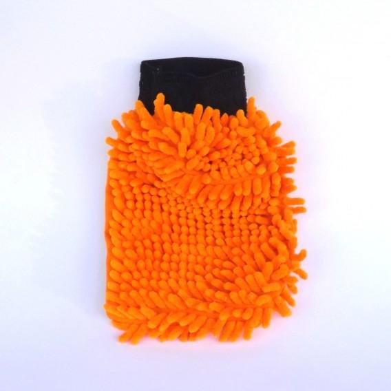 Čistící rukavice z mikrovlákna
