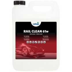 RAIL CLEAN E61 | odstraňovač náletové rzi | 5ltr