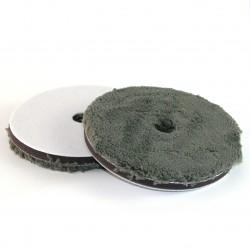 "NP MICROFIBER GREY | Micro Wool Pad střední | 153 x 15 mm | 6"""