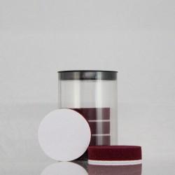 MINIPAD PRO FX BURGUNDY | vínově červený | 65 x 15 mm