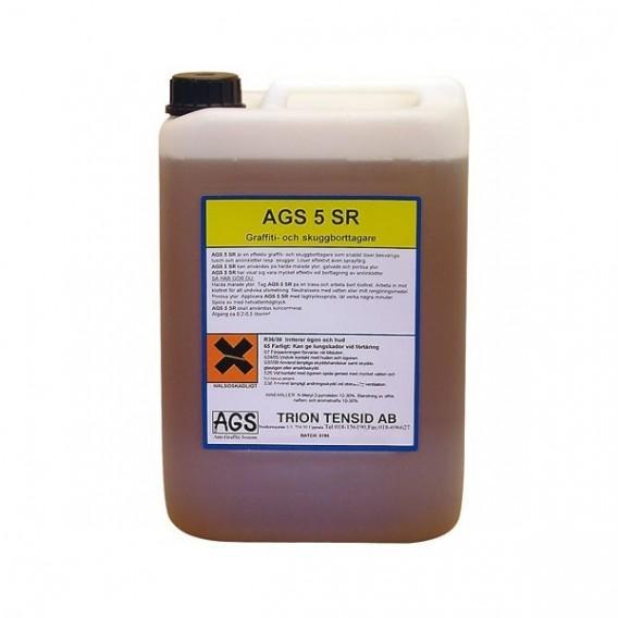 AGS 5 (5ltr) - odstraňovač graffiti z hladkých lakovaných ploch