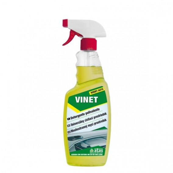Autokosmetika Atas Vinet - unikátní bezoplachový čistič plastů