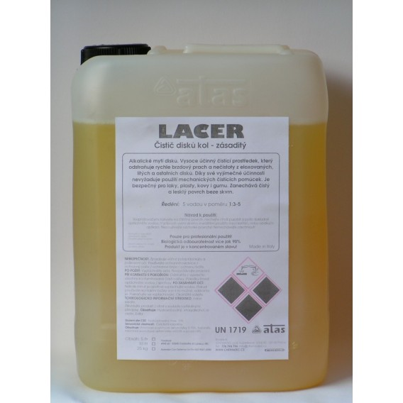 LACER (10kg) - čistič disků kol - zásaditý