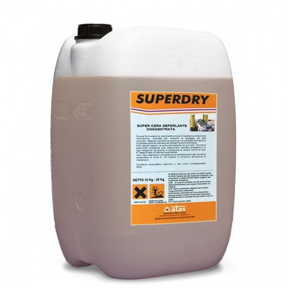 SUPERDRY | bleskový sušič a vosk | 5 kg