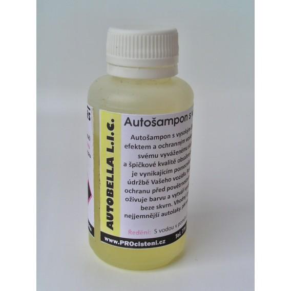 AUTOBELLA L.I.C. (vzorek) autošampon s voskem