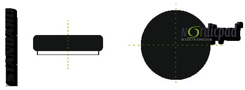 Leštící a brusné kotouče Nordic Pad Standard